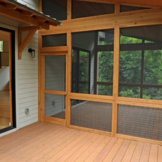 Contemporary Deck by J.W. York Homes