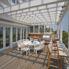contemporary porch by Bruce Palmer Coastal Design