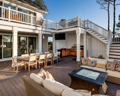 Best second floor deck design ideas remodel pictures houzz for Second floor deck