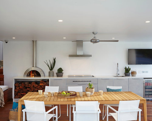 Indoor Wood-fired Pizza Oven | Houzz