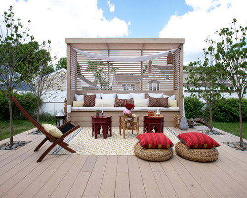 mediterrane terrasse new york ideen design bilder houzz. Black Bedroom Furniture Sets. Home Design Ideas