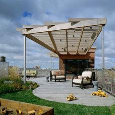 Modern Deck by Scrafano Architects