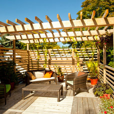 Traditional Deck by Urban Rebuilders