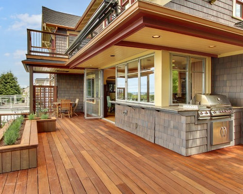 grill deck houzz. Black Bedroom Furniture Sets. Home Design Ideas