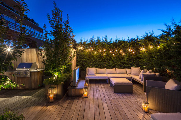 Contemporary Terrace by HARRISON GREEN