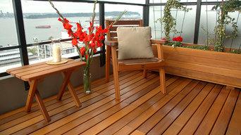 Western Red Cedar condo deck