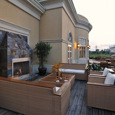 Traditional Deck by Montgomery Roth Architecture & Interior Design