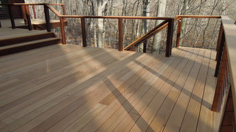Weston - Hardwood Deck w/ Cable Railings