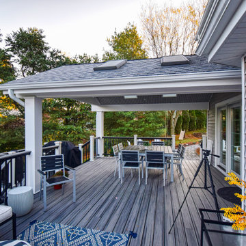 Wexford Covered Deck and Patio
