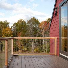Farmhouse Deck by Kaplan Thompson Architects