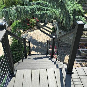 White Oak Deck