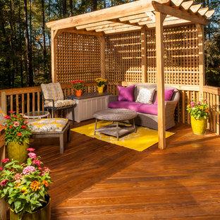 Elegant deck photo in Raleigh