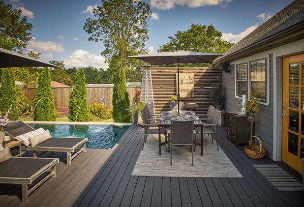 Transitional Terrace by Elizabeth Eason Architecture LLC