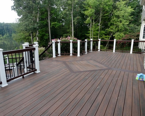 Inspiration For A Large Timeless Backyard Deck Remodel In Dc Metro