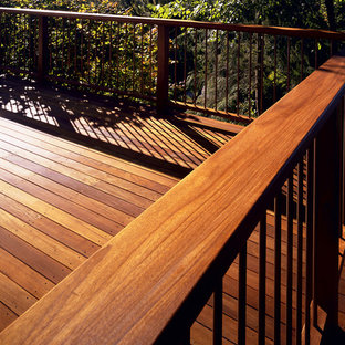 Arts and crafts deck in Minneapolis.