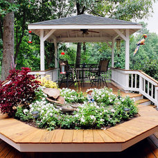 Traditional Deck by Atlanta Decking & Fence Co., Inc.