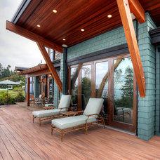 Craftsman Deck by Dan Nelson, Designs Northwest Architects