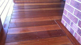 Worked with my favorite decking timber-Spotted Gum