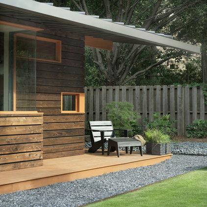 Rustic Deck by CORE Landscape Group