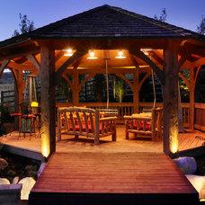 Rustic Deck by Platinum Landscape LLC