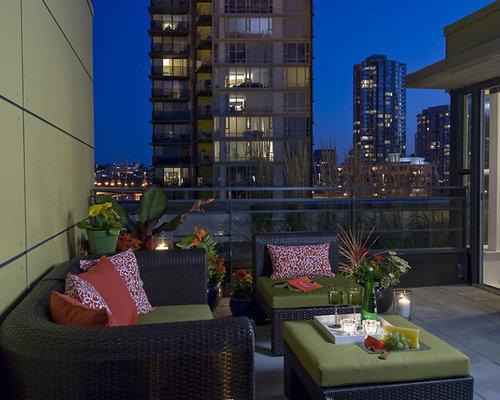 Trendy Balcony Photo In Vancouver