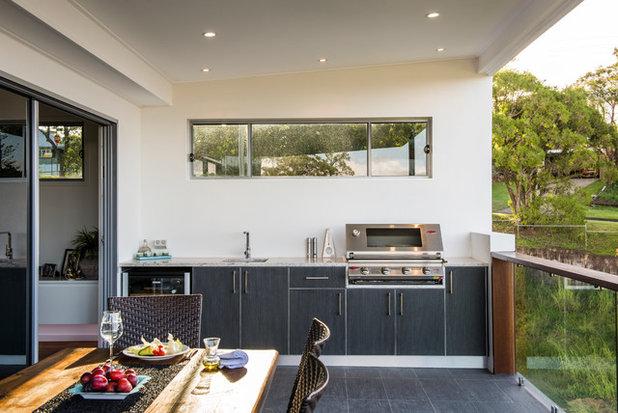 Contemporary Deck by Designer Kitchens
