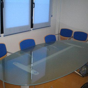 Acondicionamiento nave para uso de oficina de 275 m² construidos dos plantas.