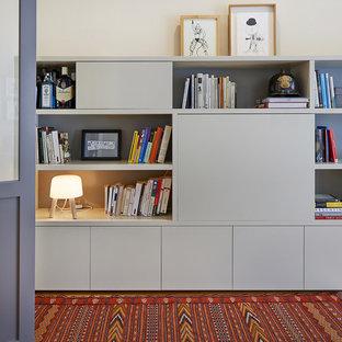 Imagen de despacho actual con paredes beige