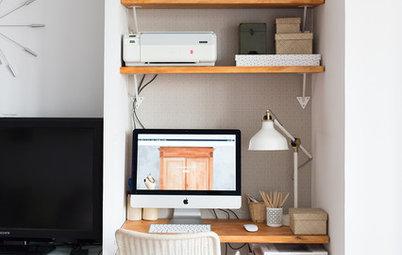 Más vale una imagen…: 10 escritorios que aprovechan el espacio