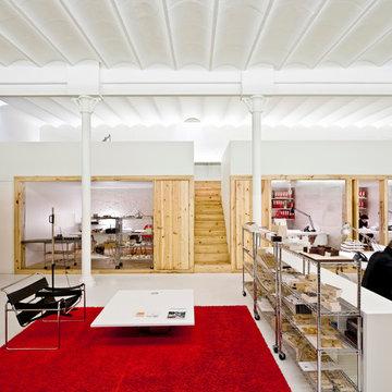 Oficina en un espectacular loft de diseño en el Eixample