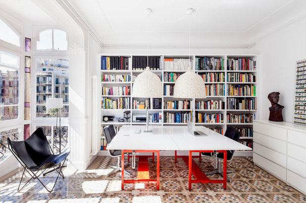 Contemporain Bureau à domicile by DS Architecture and Design