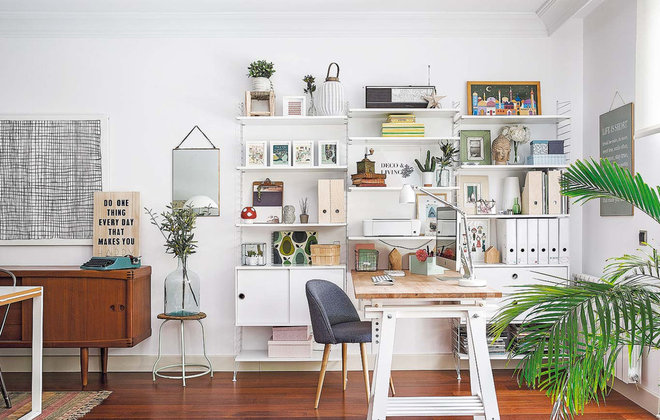 Scandinavian Home Office by deco & living