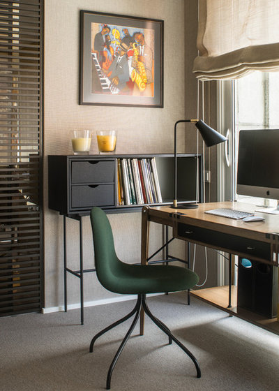 Contemporain Bureau à domicile by The Room Studio