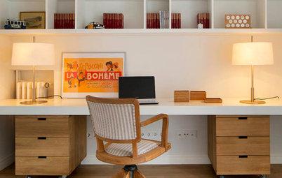 ¿Cómo se debe iluminar una mesa de trabajo?