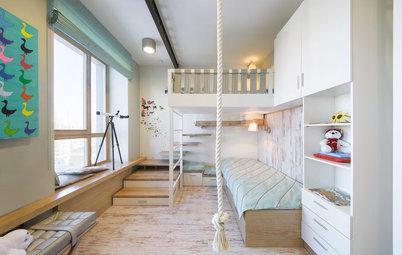 Планировка детской комнаты: Встроим все