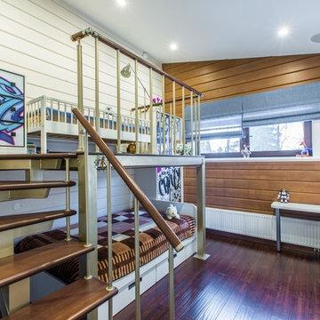 Деревянный дом из клееного бруса 327 метров