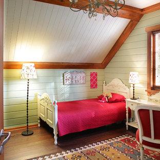 Деревянный дом в стиле американского кантри