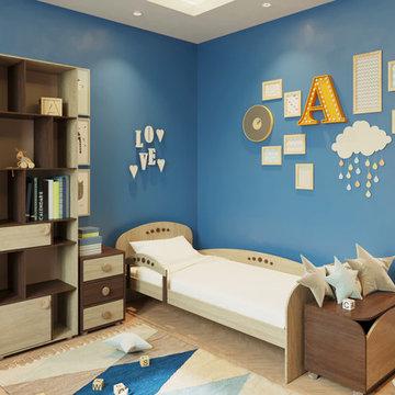 Детская комната для непосед