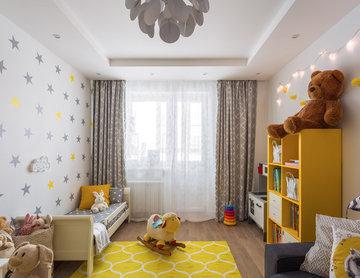 Детская комната для трехлетней девочки