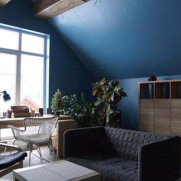 Детская комната soft loft