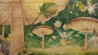 Детская роспись. Котедж на горьковском море