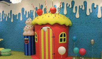 Детский домик в игровой комнате (ТЦ Аврора)
