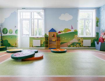 Дизайн-проект детского эко-сада