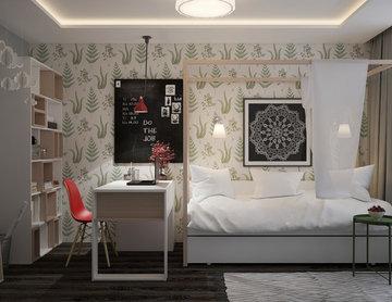 Дизайн-проект детской комнаты для Сагды