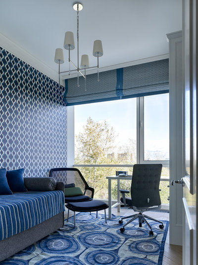 Современная классика  by Ariana Ahmad Interior Design