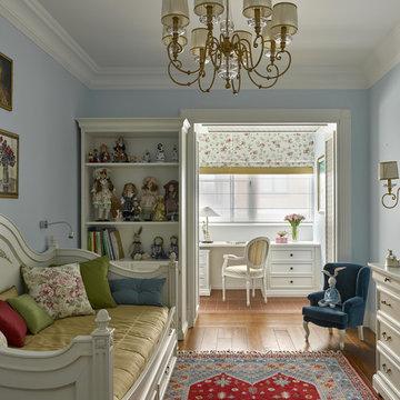 Фотосъемка интерьера квартиры на Весковском переулке для SALON Классика