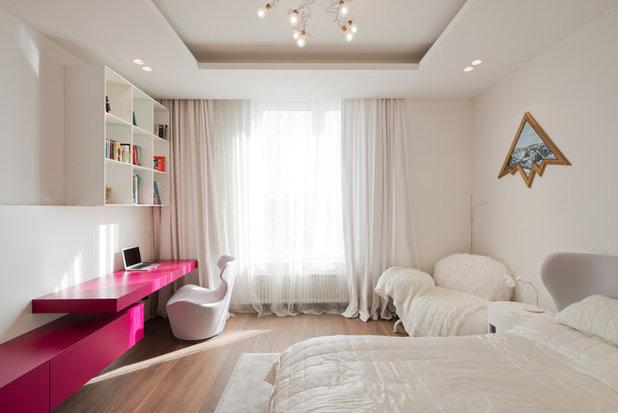 Contemporáneo Dormitorio infantil by Архитектурное бюро SL*project