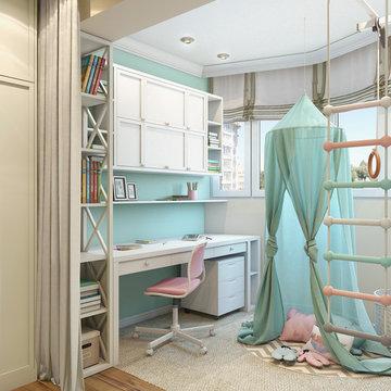 Kidsroom for two children