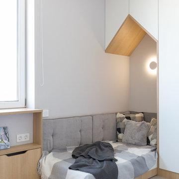 Квартира 120 м2, для молодой позитивной семьи