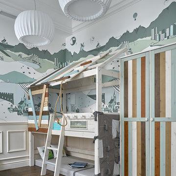 Квартира на Сретенском бульваре (фото)